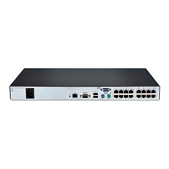 Avocent AutoView 3016 digital KVM appliance, one digital port with local port, 16 target devices